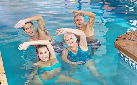 Fizioterapevtske vaje v vodi